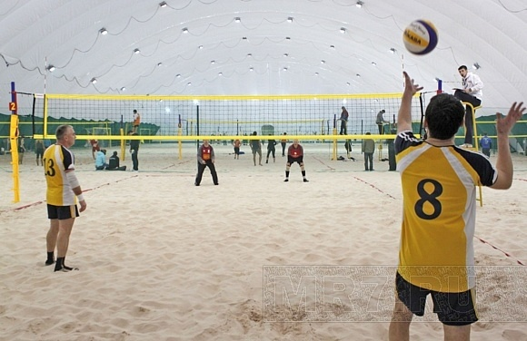 В Петербурге открылся Центр пляжных видов спорта: Фото