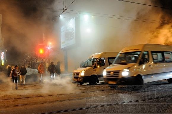 Площадь Ленина залило кипятком: Фото