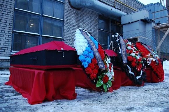 В Кировском районе перезахоронили останки блокадников: Фото