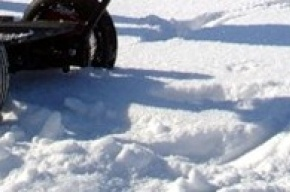 У «Звездной» из-за снега не пройти с телегой