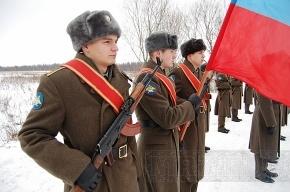 В Кировском районе перезахоронили останки блокадников