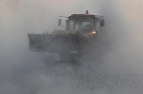 В Приморском районе авария на магистральном трубопроводе