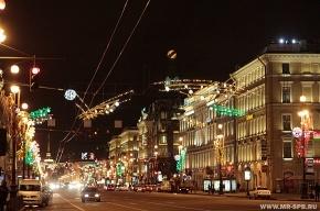 В новогоднюю ночь ограничат парковку и перекроют Невский проспект