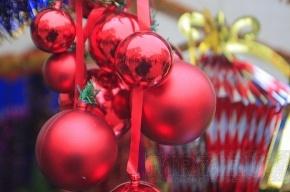 В городе открываются новогодние ярмарки