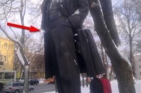 Подрыв памятника Ленину: Молодогвардейцы обвинили коммунистов в пиаре