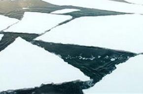 У Кронштадта оторвало льдину с рыбаками и ребенком