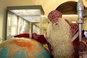 Российский Дед Мороз в Музее связи