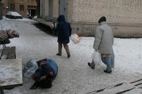 Московские бездомные готовы помочь Петербургу убрать снег