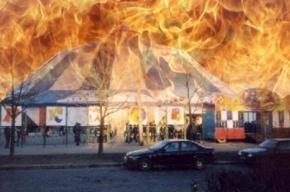 Пожар в цирке в Автово потушен: погибли черепашки, ужи и кролики