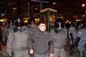 По последним данным вчера в Петербурге было задержано 80 человек