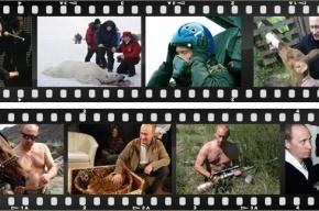 Петербуржцы отправляют Путина в космос