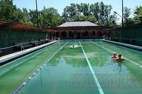 Открытый бассейн на Большой Пороховской улице снова работает