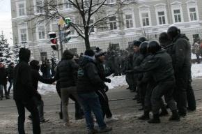В центре Петербурга - массовые беспорядки
