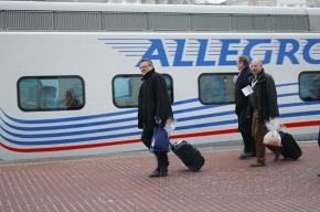 На первом поезде «Аллегро» проехал Путин (ФОТО)