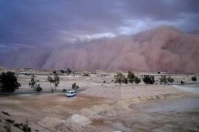 В Египте бушует песчаная буря