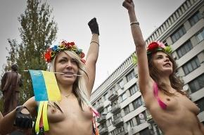 Хакеры атаковали FEMEN