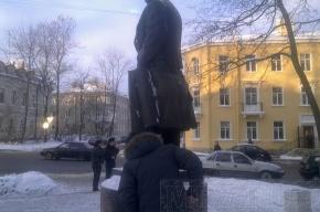 Взрыв памятника Ленину. Пушкинцы негодуют