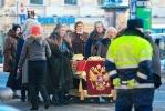 Гроб на Невском: фоторепортаж: Фоторепортаж