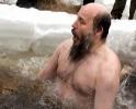 Крещенские купания на Аптекарской набережной глазами Марины Черных: Фоторепортаж