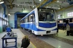 Какими будут новые вагоны метро: фоторепортаж (вагоны нева): Фоторепортаж
