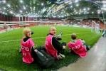 Телеканал 100 ТВ приготовил подарок для болельщиков «Зенита»: Фоторепортаж