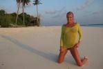 Первая фотосессия Анастасии Волочковой на Мальдивах: Фоторепортаж