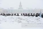Будущие моряки митинговали за введение Дня кораблестроителя: Фоторепортаж