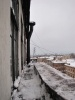 От уборки снега вылетали стекла: Фоторепортаж