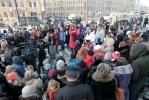 Защитники животных провели митинг в центре Петербурга: Фоторепортаж