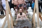 Крещенские купания на Аптекарской набережной: в лицах: Фоторепортаж