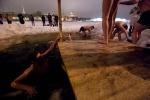 Крещенская ночь: Фоторепортаж