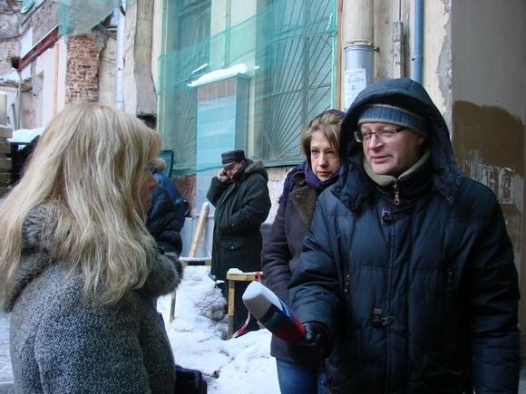 «Живой город» провел митинг у Литературного дома: фоторепортаж: Фото