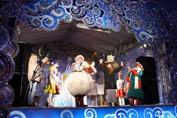 Михаил Светин показал «Щ» на рождественской ярмарке (фото): Фото