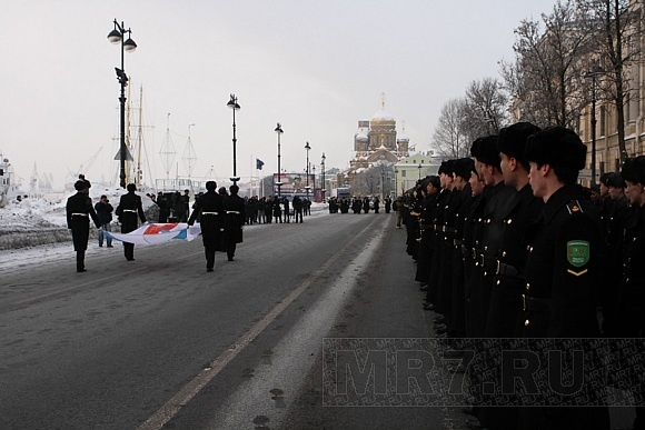 Морскому корпусу Петра Великого исполнилось 310 лет: Фото