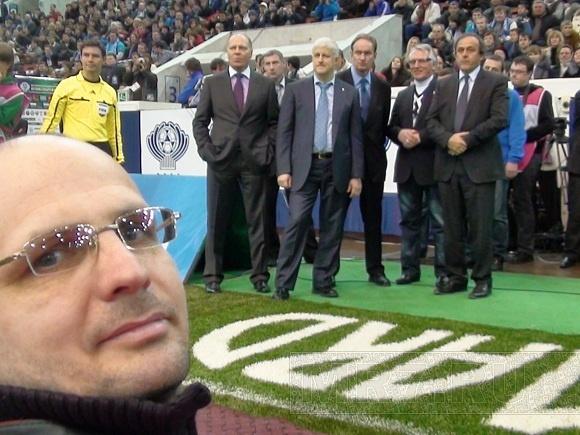 Фанаты «Зенита» разбудили кота, а Платини ударил по мячу: Фото