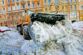 На незаконные свалки снега можно будет пожаловаться