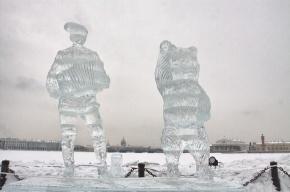 Фестиваль ледовых скульптур пройдет на Стрелке Заячьего острова
