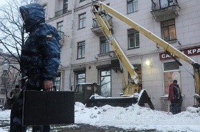 Фоторепортаж с места гибели ребенка на проспекте Стачек