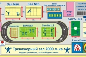 Обрушилась крыша спортивного комплекса имени Алексеева