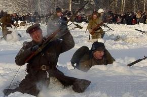В Полежаевском парке сегодня реконструируют бой 1943 года