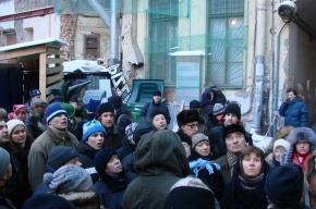 «Живой город» провел митинг у Литературного дома: фоторепортаж