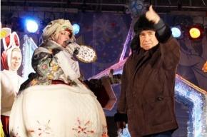 Михаил Светин показал «Щ» на рождественской ярмарке (фото)