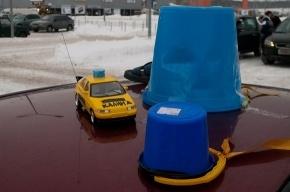 Автопробег «Синих Ведерок» в Петербурге закончился задержанием шестерых участников