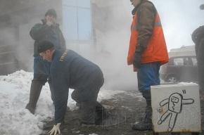 В кипятке на Полюстровском обварились двое человек