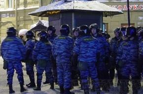 У Гостиного двора много милиции