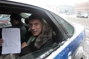 В Москве арестовали протестовавших против ареста Немцова