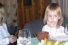 Жители поселка Александровская ищут трехлетнюю Алену Щипину