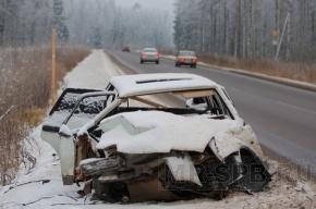 В Приозерском районе водитель Hyundai выехал на встречную полосу