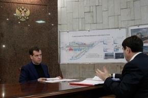 Медведев поручил Минтрансу разобраться в пожаре Ту-154Б
