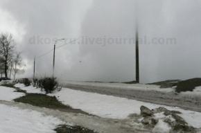 На Полюстровском проспекте прорвало трубу
